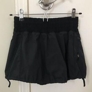 Lululemon Black Skort Size 2